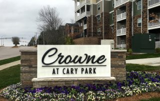 Crowne Monument Sign